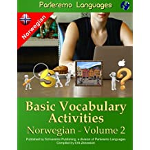 Parleremo Languages Basic Vocabulary Activities Norwegian - Volume 2