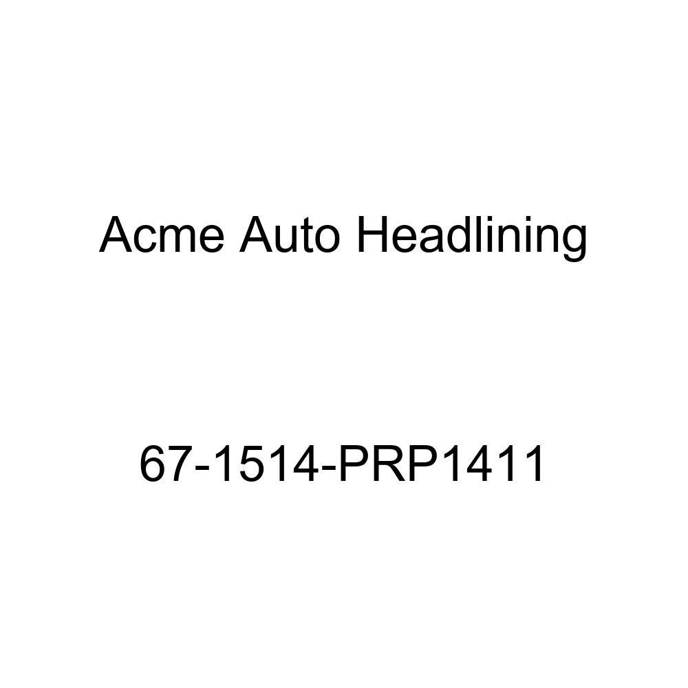 Pontiac Bonneville Catalina /& Executive 4 Door Hardtop 5 Bow Acme Auto Headlining 67-1514-PRP1411 Maroon Replacement Headliner