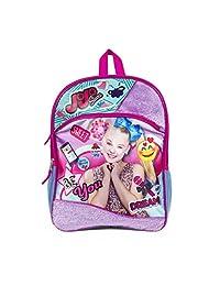 "JoJo Siwa 16"" Backpack with Fur Standard"