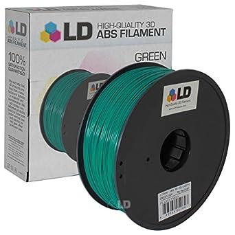 Amazon.com: LD© Abs filamento impresora 3d (Varios colores ...