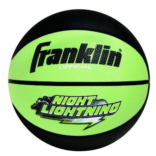 Franklin Sports Night Lightning Basketball (Intermediate B6)