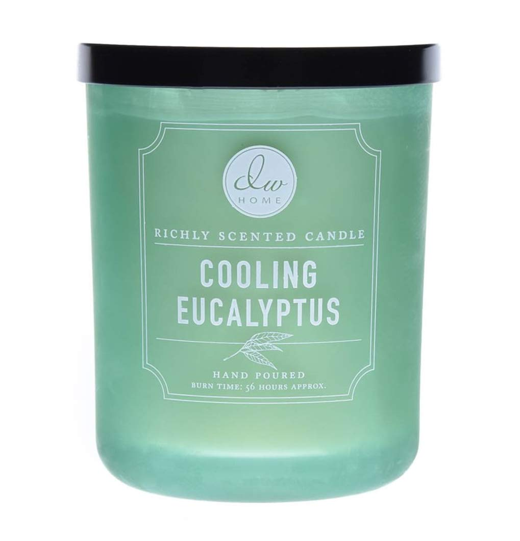 DW Home Cooling Eucalyptus Hand Poured Double Wick Candle 15.1 oz