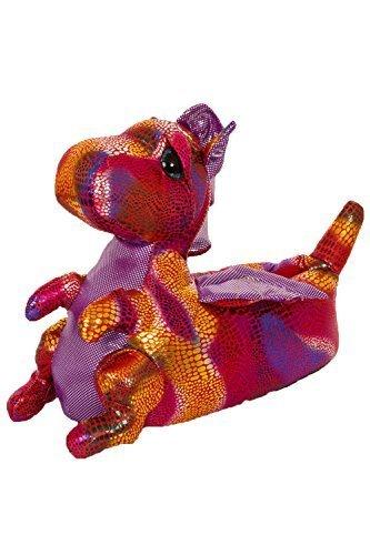 Dragon nouveauté 3D Animal Pantoufles Tailles femmes Femmes Différents Cute 3 Rose Styles Filles 8 ZAWUfOHwwq