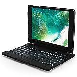 iPad Mini 1, iPad Mini 2 and iPad Mini 3 Keyboard Case, Snugg Apple iPad Mini 1, iPad Mini 2 and iPad Mini 3 Bluetooth Keyboard Case Cover [Smart Backlit] Folio, Wireless Auto Sleep/Wake - Black