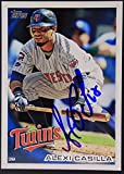 Minnesota Twins Alexi Casilla Signed 2010 Topps Autograph Card #519 TOUGH 922
