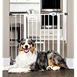 Carlson Extra Wide Pet Gate, with small pet door