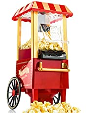 Gadgy Popcornmachine | Retro popcornmaker | hete lucht zonder vet vetvrij olievrij