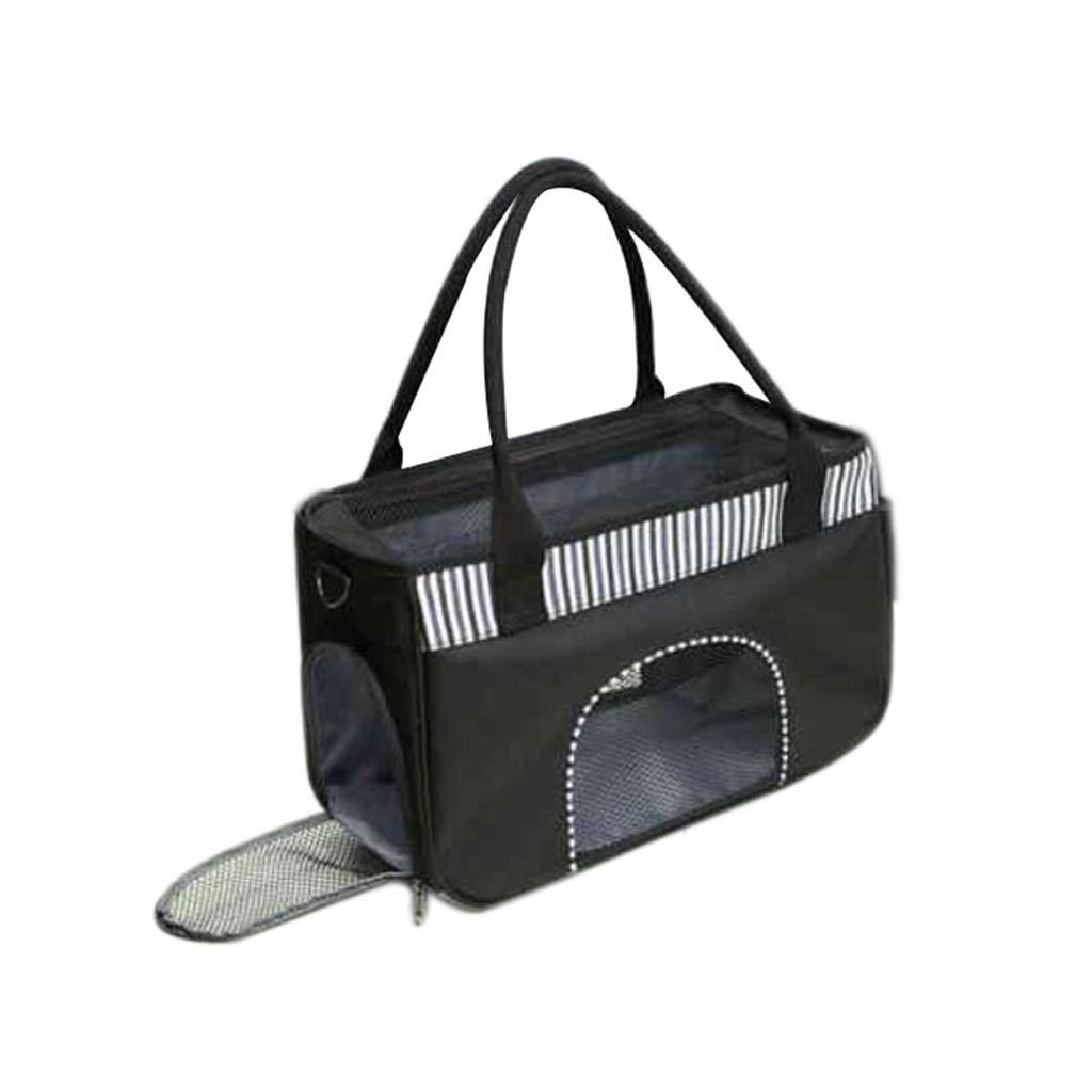 43x18x27.5cm MIAOLIDP Pet out bag  breathable handcuffs  single shoulder diagonal bag  summer airy dog bag  portable pet bag Pet cat carrier (Size   43x18x27.5cm)