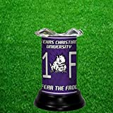 TEXAS CHRISTIAN UNIVERSITY HORNED FROGS NCAA TART WARMER - FRAGRANCE LAMP - BY TAGZ SPORTS