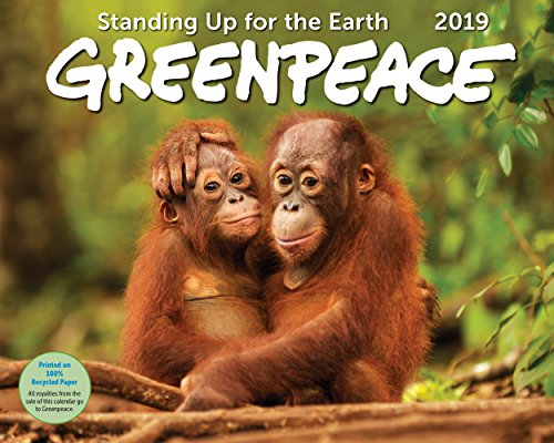 Greenpeace Wall Calendar 2019 Monthly January-December 15