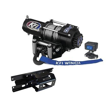 KFI Combo Kit A2500R2 Winch Winch Mount