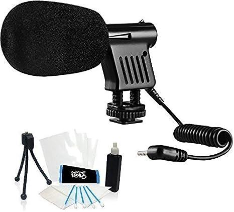 Mini Zoom Vídeo Cámara escopeta micrófono para nikon coolpix L840 ...