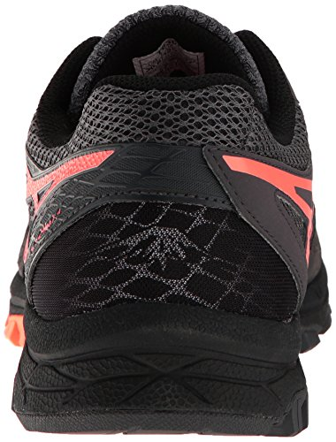 Asics Mænds Gel-fujiattack 5 Spor Runner Mørkegrå / Hot Orange / Sort EwLjxcJpF