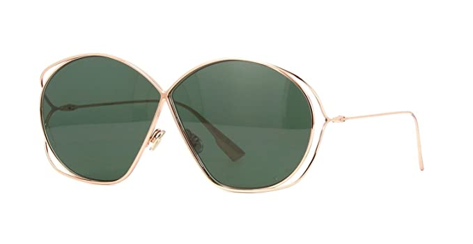 22ff895c61 Dior DIOR STELLAIRE 2 ROSE GOLD GREEN women Sunglasses  Amazon.co.uk   Clothing