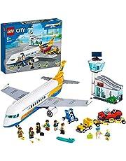 LEGO City 60262 Samolot pasażerski, fajny model dla dzieci (669 elementów)