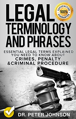 law terms Use legal jargon where strictly necessary, our wording is there to explain ideas and concepts rather than to give strict legal definitions the terms and explanations are for the law in england and wales.
