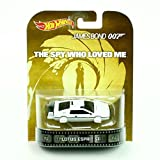 Hot wheels James Bond 007 Lotus Esprit S1 Rare boat car retro entertainment the spy who loved me