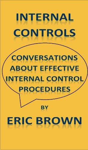 Download Internal Controls – Conversations about effective internal control procedures Pdf