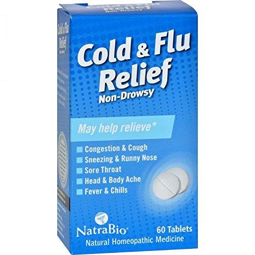 Natra Bio Cold & Flu Relief 60 ()