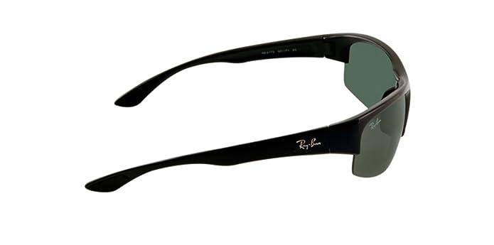 ece723e864 Amazon.com  Ray-Ban RB4173 - 601 71 Sunglasses Black w  Green Classic Lens  62mm  Ray-Ban  Shoes