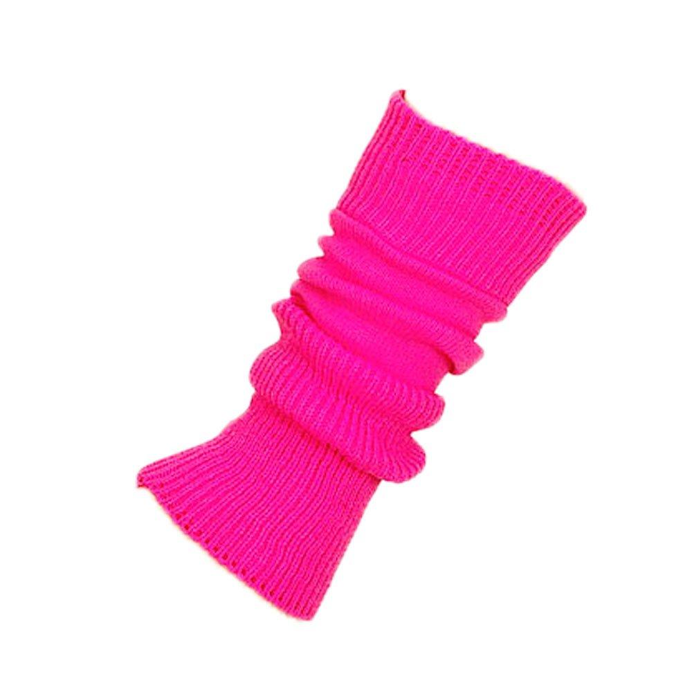 Starlite 38cm Flo Pink Leg Warmers No Stirrup