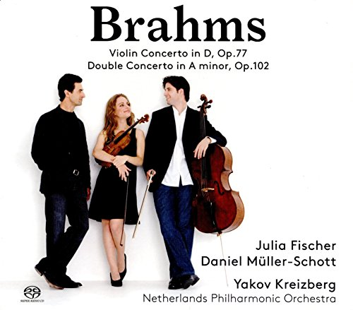 Price comparison product image Johannes Brahms: Violin Concerto in D,  Op. 77 & Double Concerto in A Minor
