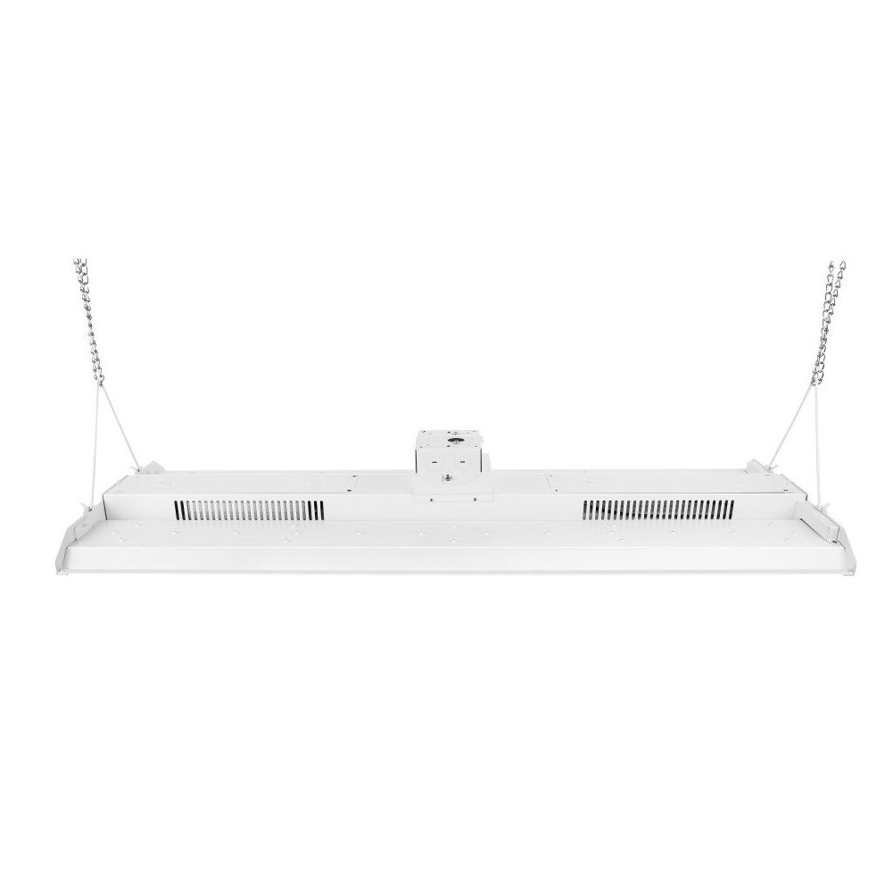 BEGOST 150W LED Linear High Bay Light, 4FT 5000K 20700Lm AC100-277V Warehouse Lighting Fixture with Chains, Junction Box and SOSEN Driver