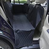 Amochien Dog Seat Cover Car Seat Cover for Pets- Waterproof & Scratch Proof & Nonslip Backing & Side Flaps & Quilted and Machine Washable Pet Seat Cover Hammock Review