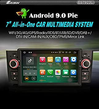 Erisin ES7923L - Radio para Coche de 7 Pulgadas, Android 9.0 ...