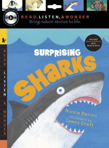 Download Surprising Sharks with Audio, Peggable: Read, Listen, & Wonder PDF