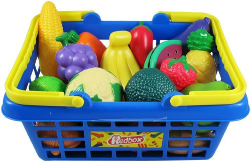 Amazon Com Fruits And Vegetables Basket Toys Games