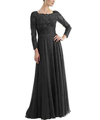 Pretygirl Womens Appliques Chiffon Mother Of The Bride Dresses Long Prom Evening Gown With Sash