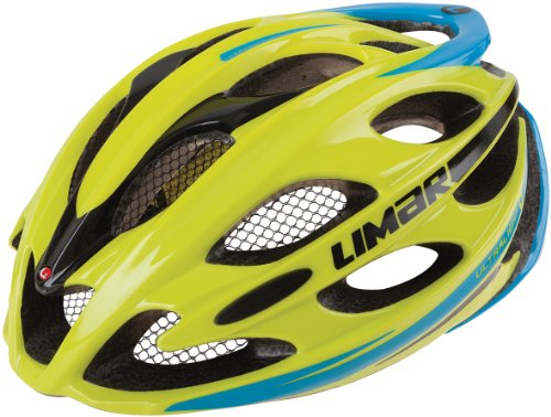 Limar Ultralight+ Helmet, Lime/Blue, Large