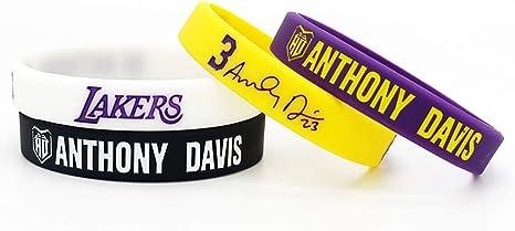 Baloncesto de la NBA Anthony Davis Retrato Pulsera número 23 DE ...