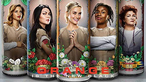 Orange Is The New Black Alex Piper Red Suzanne Dayanara Edible Cake Topper Image ABPID26919 - 1/8 sheet -