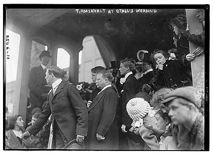 Amazoncom Historicalfindings Photo Theodore Roosevelt At Ethels