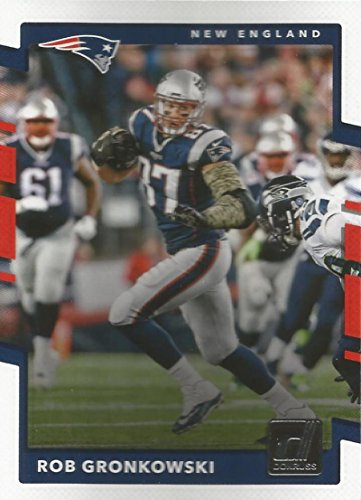 2017 Donruss #25 Rob Gronkowski New England Patriots Football Card