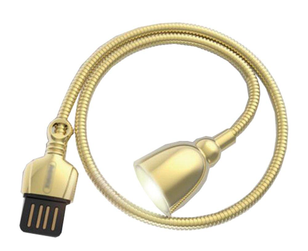 Eye Protection USB Night Light Mini Reading Lamp Table LED Lamp For Laptop(Golden)