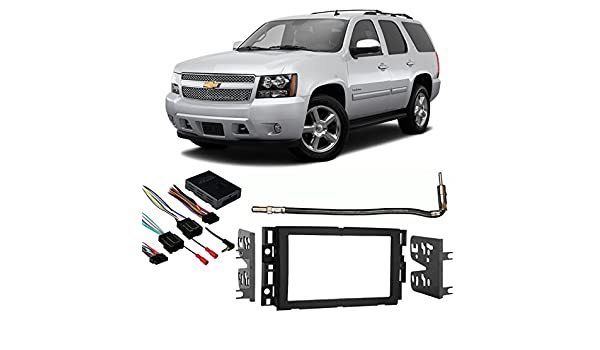 Amazon Fits Chevy Tahoe 20072014 Double Din Stereo Harness Rhamazon: 2007 Chevy Tahoe Aftermarket Radio Install Kit At Gmaili.net