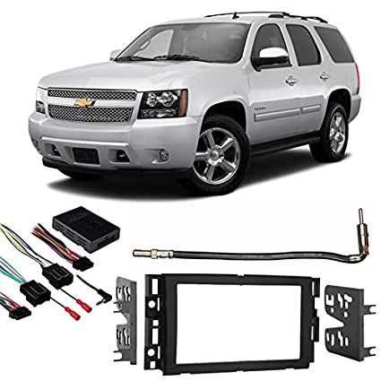 Amazon com: Fits Chevy Tahoe 2007-2014 Double DIN Stereo Harness