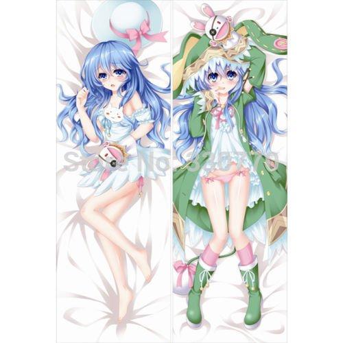 Personalized pillowcase 50X150cmDakimakura Hugging Body Pillows Case DATE A LIVE Yoshino