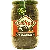 Crespo Dry Black Greek Olives 250g