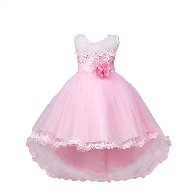 Vlunt Niñas Formal vestido de boda vestido de fiesta de dama Kid ropa de bebé para
