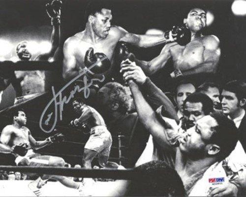 Joe Frazier Signed 8x10 Photo - PSA/DNA Authentication - Boxing Memorabilia ()