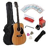 41 inch Acoustic Guitar Cutaway Beginner Acoustic guitar-Gloss Natural