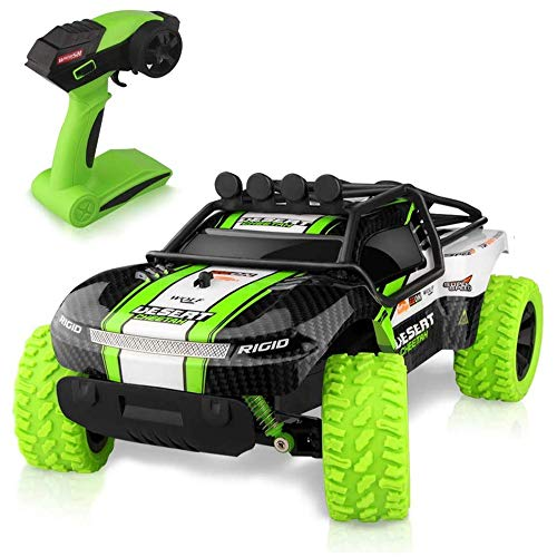 Bcquy Radio Controlados Carreras Off-Road Vehículos 2.4Ghz Multi-Terrain Stunt Car RC Remote Control de Regalos for…