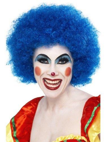 Nuevo para mujer para hombre disfraz infantil en azul de pelucas negra