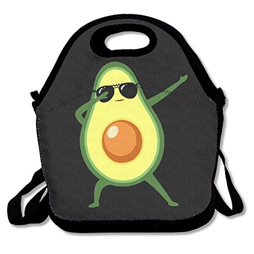Jieruikam Insulated Lunch Bag Dabbing Avocado Multifunction Waterproof Tote Reusable Picnic Bags For Woman Man ()