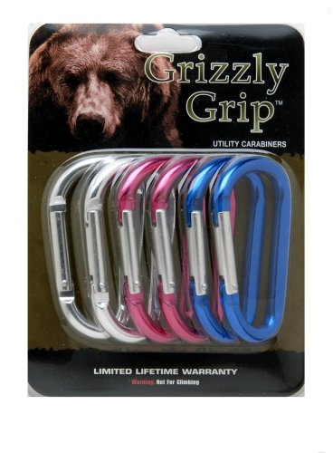 Grizzly Grip Utility Carabiners, Outdoor Stuffs