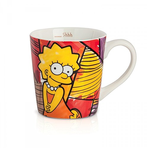 The Simpsons Taza Jumbo, Modelo Lisa,  https://amzn.to/2SEiJ8E